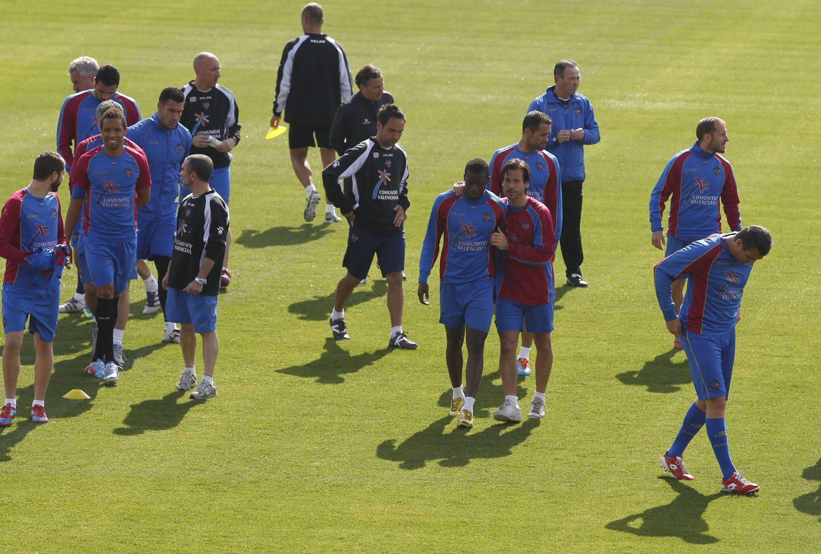 Entrenamiento Levante (22-04-2013)