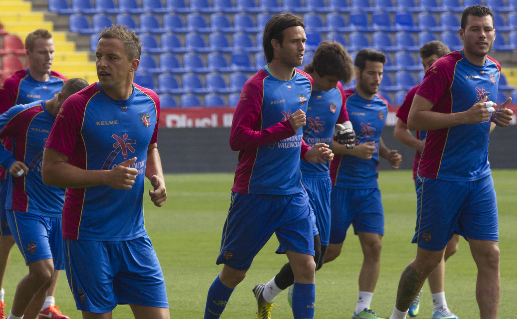 Entrenamiento del Levante (9-5-2013)