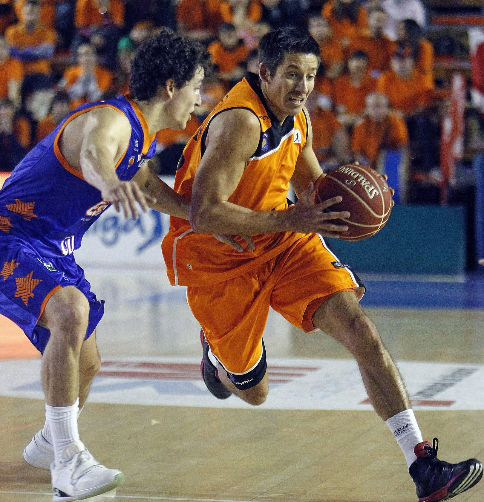 Partido entre el Fuenlabrada y el Valencia Basket
