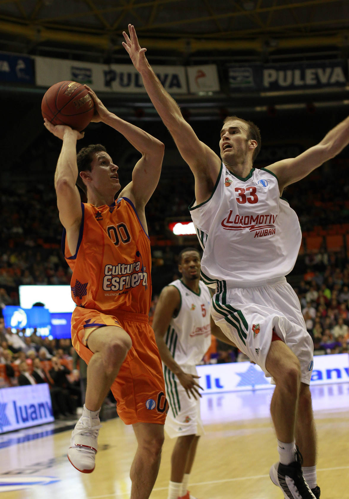 Las mejores im&aacute;genes del Valencia Basket-Lokomotiv Kuban