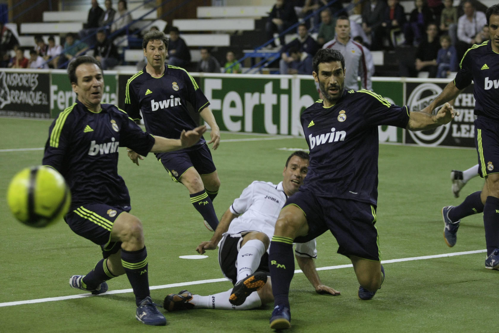 Fútbol Indoor en Gandia (Valencia-Real Madrid)