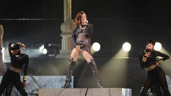 Rihanna de gira en Diamonds World Tour