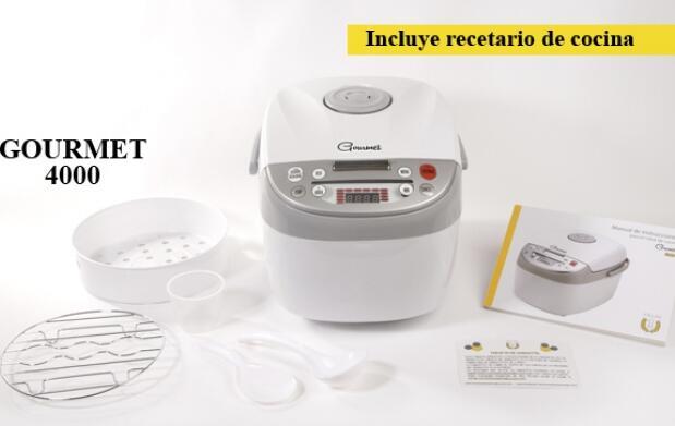 Robot de cocina gourmet GM 4000 y 5000