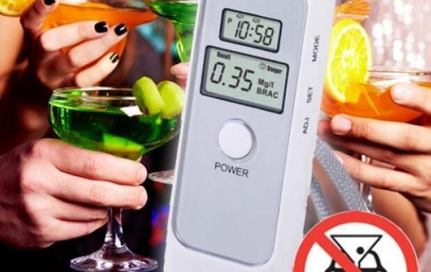 Alcoholímetro de bolsillo por13 euros