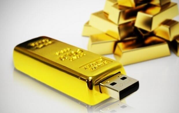 USB Lingote de oro de 16 o 32 GB