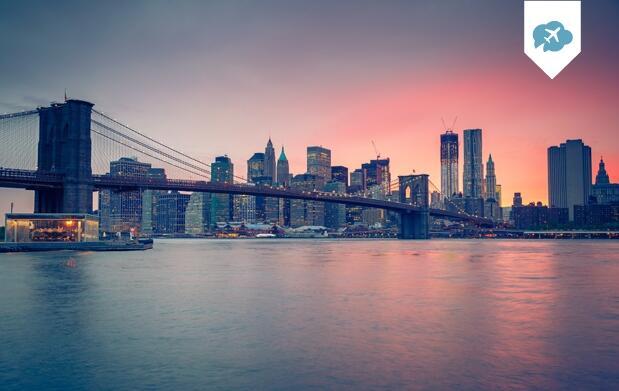 Nueva York: 5-7 noches Vuelo+Hotel 3*