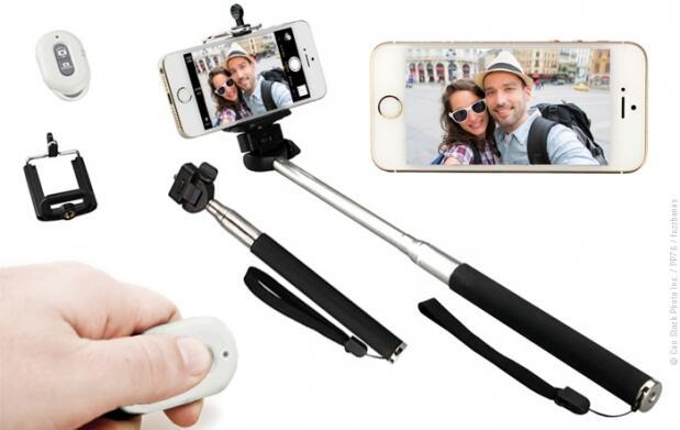 Kit brazo extensor para selfies