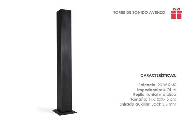 Torre de Sonido Avenzo