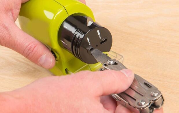 Afilador de cuchillos y herramientas