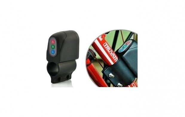 Alarma digital ABC para bicicletas por 12
