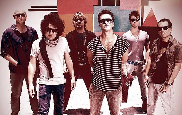 'Los Amigos Invisibles' en zona VIP La3