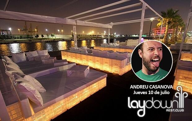 Andreu Casanova + mojito en Laydown