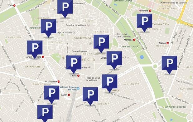 Bono de 5 horas de parking privado