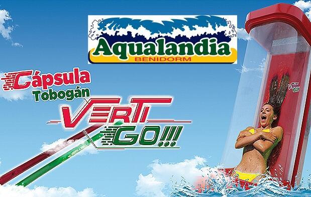 Entrada de 1 día en Aqualandia por 26€