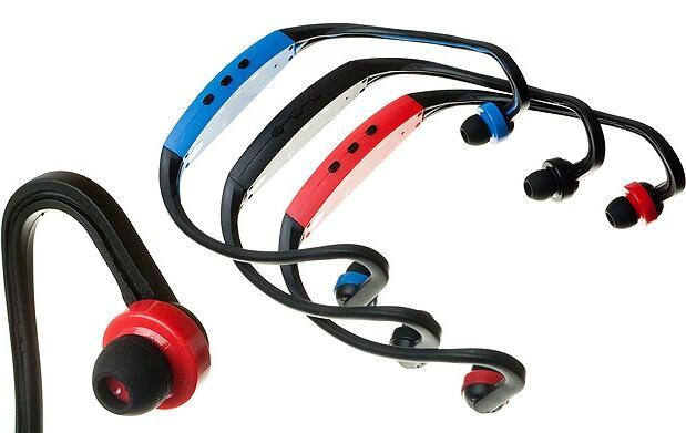 Auriculares deportivos con mp3 y radio