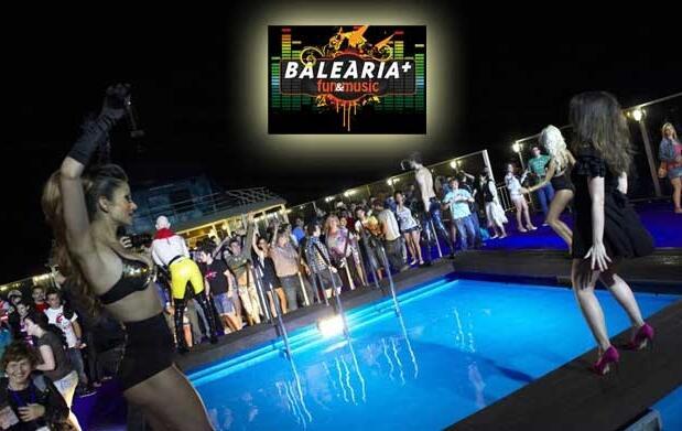 Viaja a Ibiza con fiesta 'dance' a bordo