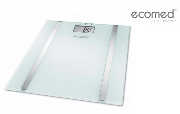 Báscula de baño con medición muscular y de grasa