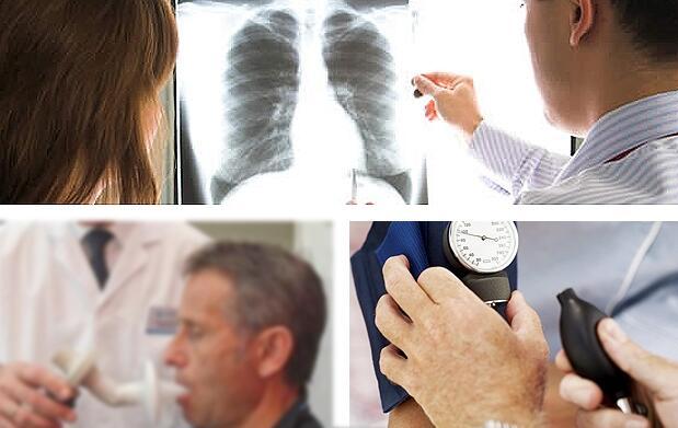 Chequeo médico para fumadores