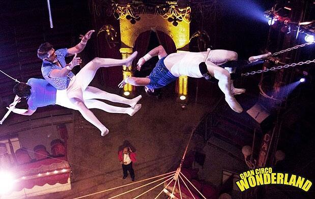 Diciembre de circo en el Wonderland
