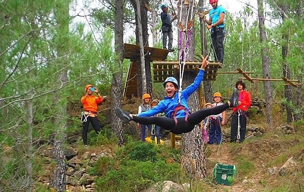 Circuito aventura + tiro con arco en Montanejos