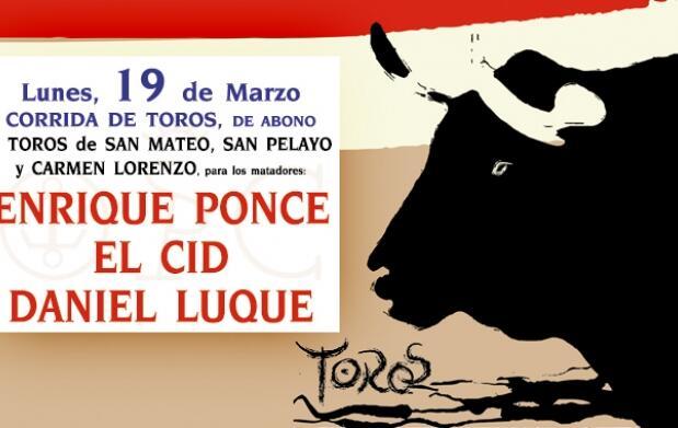 Ponce, El Cid y Luque por 40 euros