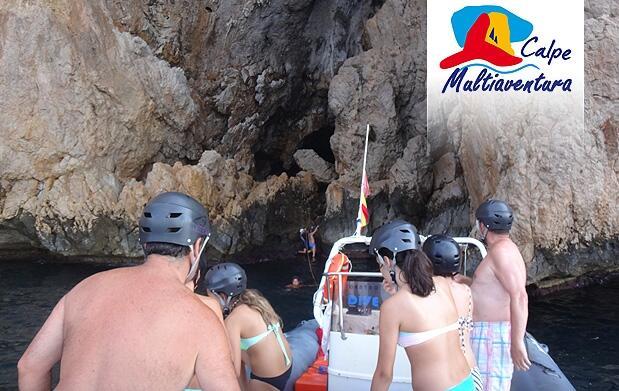 Excursión en barco y Cueva Las Palomas (2,5h)