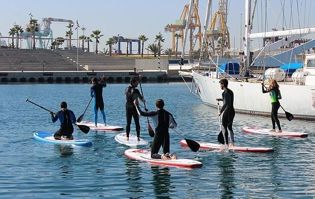 Curso de iniciación Stand Up Paddle (SUP)