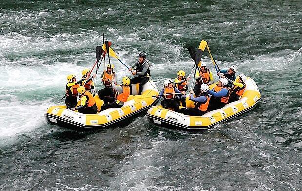 Rafting y kayak en las Hoces del Cabriel