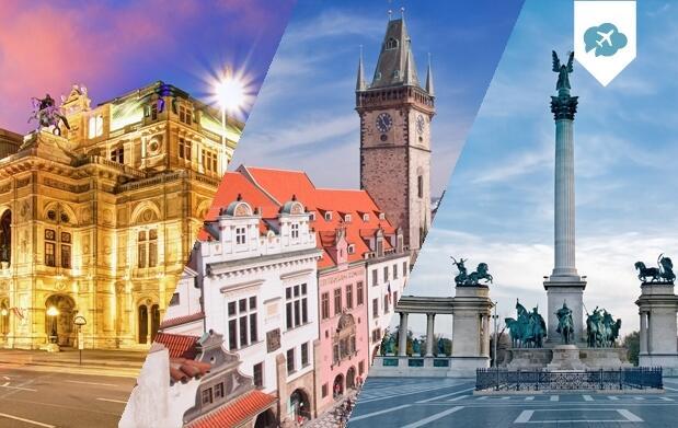 Circuito de 8 días Budapest-Viena-Praga