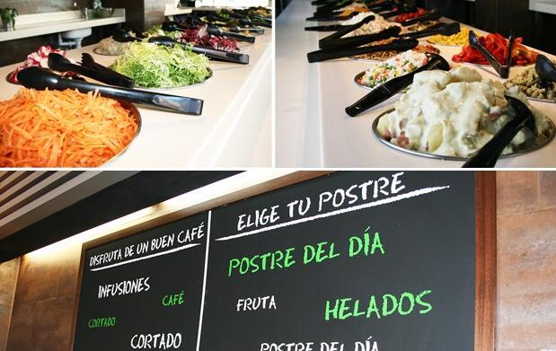 Buffet libre mediterráneo en Fresc Co