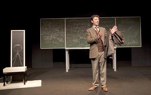 'El arte de la fuga' en el teatro Flumen