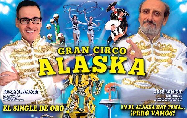 Tribuna A del Gran Circo Alaska por 9€