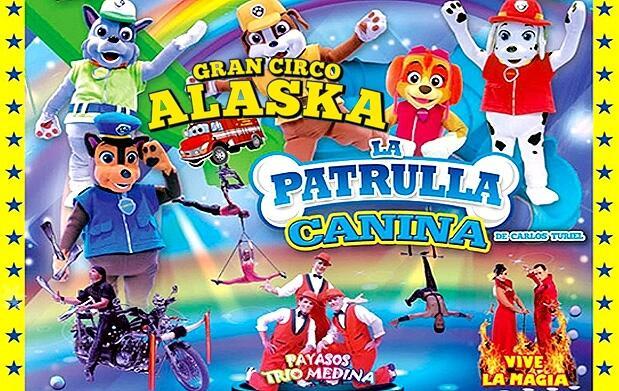 Entradas del Gran Circo Alaska por 5€