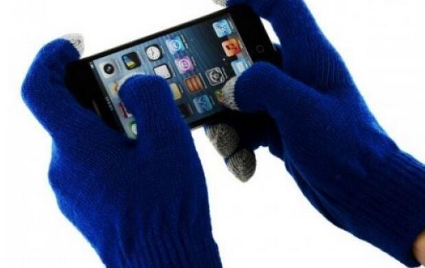 Guantes táctiles para móvil en 3 colores
