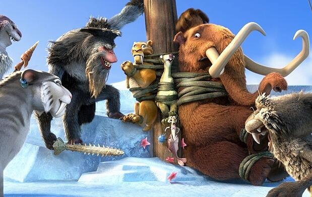 Ice Age 4, refresco y palomitas