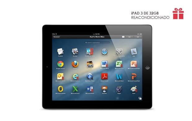 iPad 3 de 32 GB reacondicionado