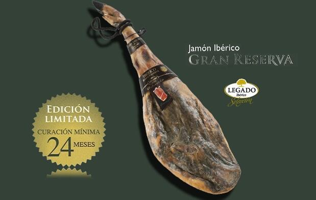 Jamón Ibérico Gran Reserva 8,5Kg