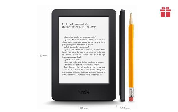 Kindle 6 pulgadas pantalla táctil + Wifi