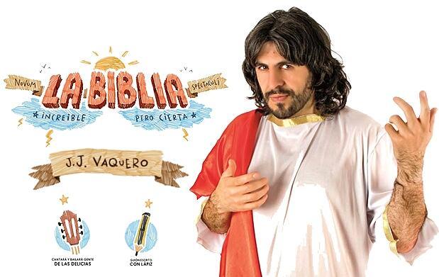 'La Biblia' de J.J.Vaquero en el Flumen