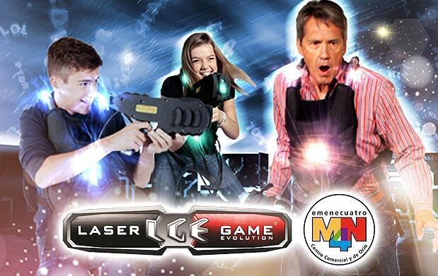 Laser Game Evolution MN4 para 4, 6 o 10