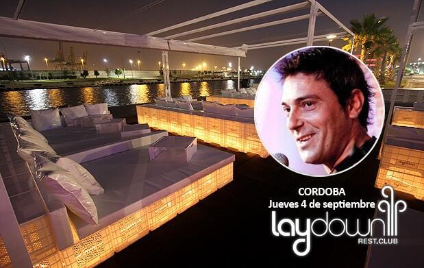 Juan Carlos Córdoba + mojito en Laydown