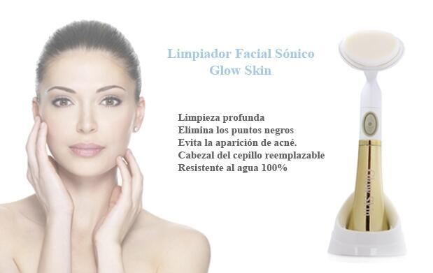 Limpiador facial sónico Glow Skin