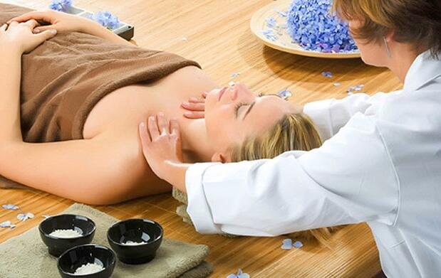 Un masaje de 45 minutos
