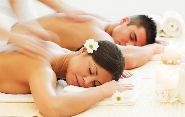 Masaje en pareja en suite privada