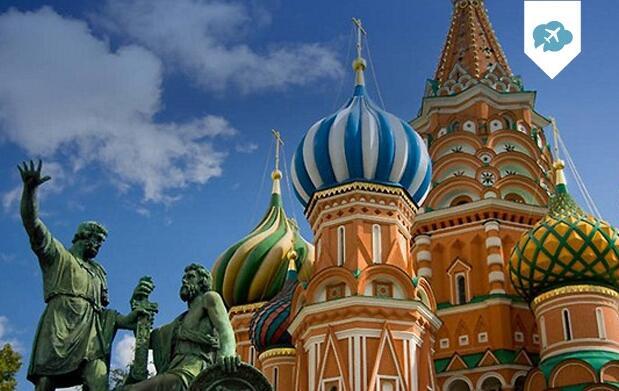 8 días en Moscú y San Petersburgo