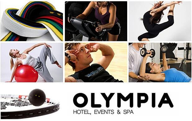 Fitness, clases, piscina y spa