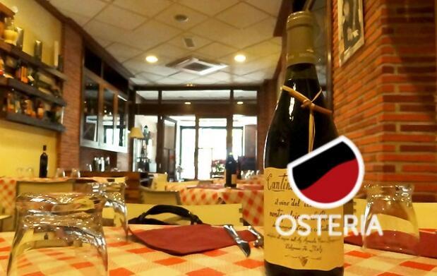 Cena italiana para dos en la Osteria