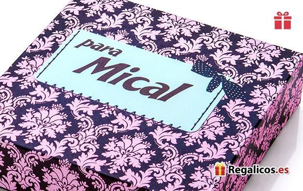 Pack de 3 cajas de regalo personalizadas