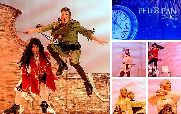 El musical Peter Pan on ice en Valencia