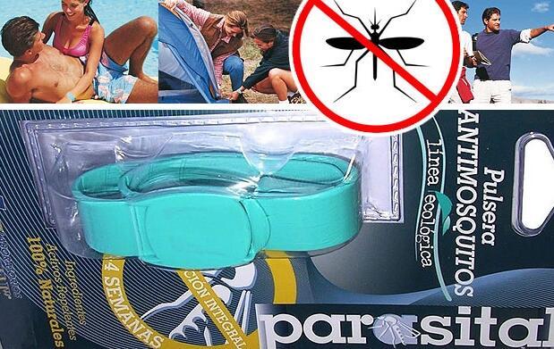 Pack de 2 pulseras antimosquitos